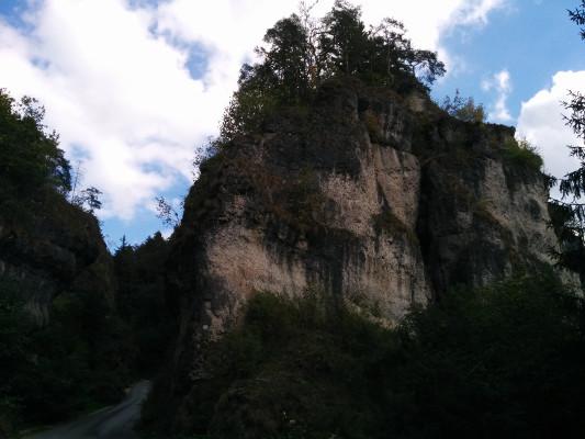 Felsentor Einfahrt Bärnschlucht