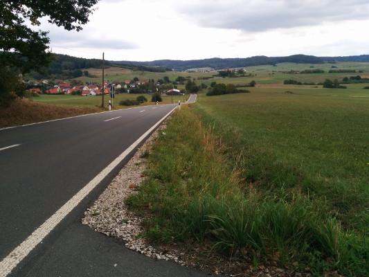 Geschafft - Abfahrt nach Volsbach