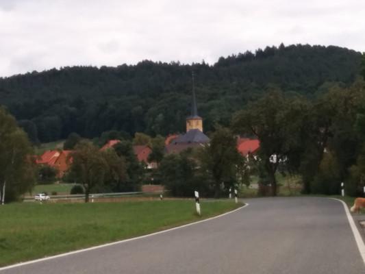 Blick auf Poppendorf