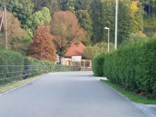 Start: Wir verlassen Grossenohe, ..