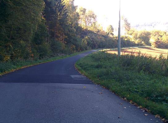 .. weiter in Richtung Drügendorf !
